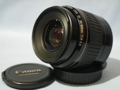 Canon Zoom Lens ef 35-80mm Canon ef Usm 35-80mm 4-5.6